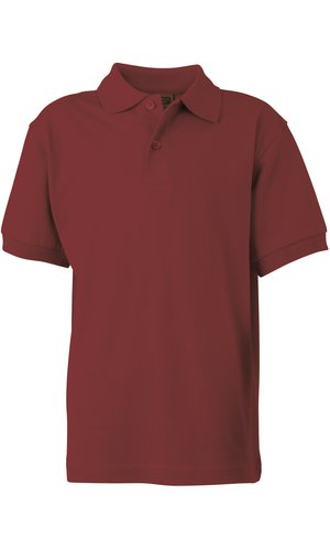 Classic Polo Junior [wine, XS]