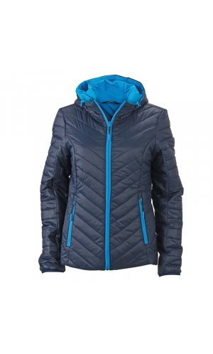 Ladies Lightweight Jacket [navy aqua, S]