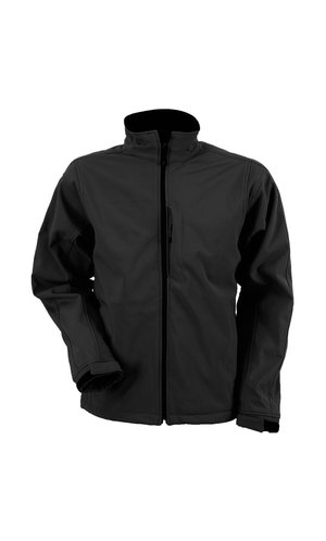 Mens Softshell Jacket [black, 3XL]