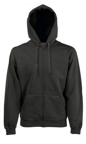 HOODED JACKET CLASSIC, Fotl   [ANTHRAZIT, S]