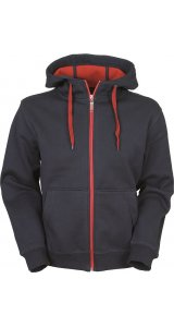 Mens Doubleface Jacket [red navy, XL]