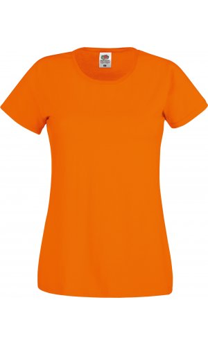 Lady-Fit Original T [Orange, XS]