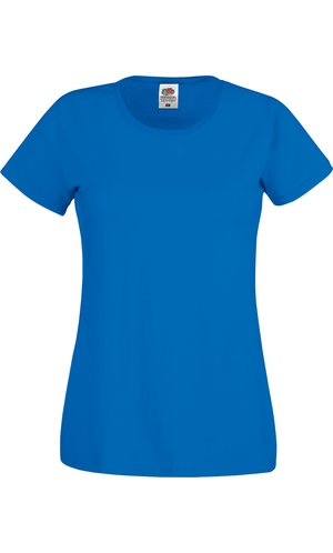 Lady-Fit Original T [Royal, XS]