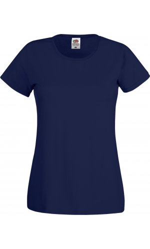 Lady-Fit Original T [Deep Navy, XS]