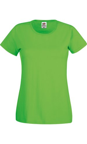 Lady-Fit Original T [Lime, XS]