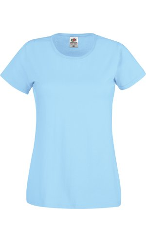 Lady-Fit Original T [Pastellblau, XS]