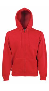 HOODED JACKET CLASSIC, Fotl   [ROT, XL]