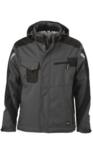 Craftsmen Softshell Jacket [carbon black, S]