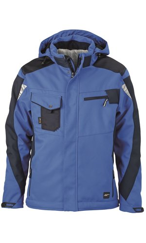 Craftsmen Softshell Jacket [royal navy, S]