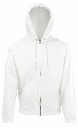 HOODED JACKET CLASSIC, Fotl   [WEISS, S]
