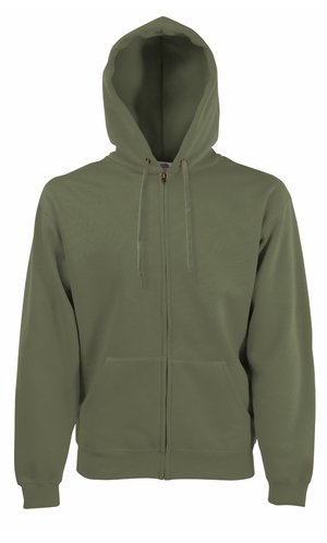 HOODED JACKET CLASSIC, Fotl   [OLIVE, S]
