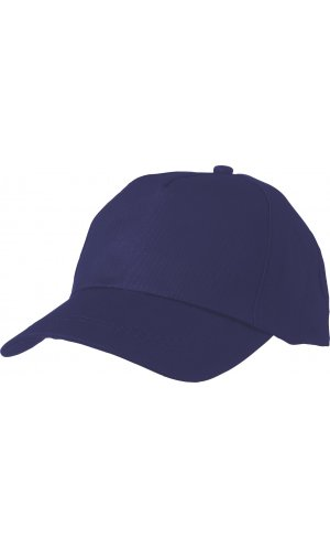 5 Panel Promo Cap leicht laminiert [royal, One-size]