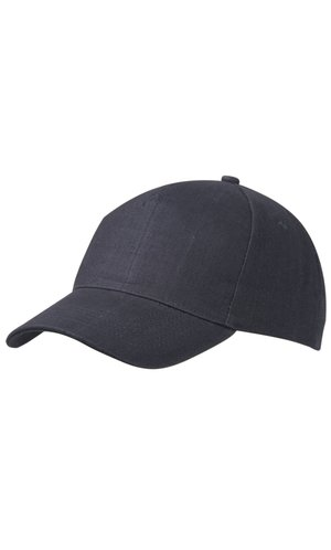5 Panel Cap Heavy Cotton [navy, One-size]