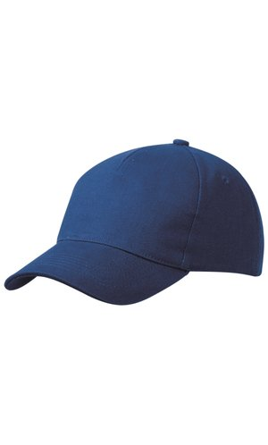 5 Panel Cap Heavy Cotton [royal, One-size]