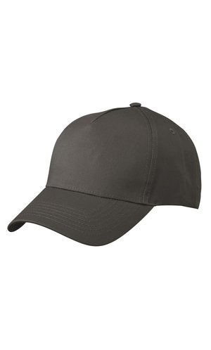 5 Panel Cap [graphite, One-size]