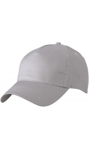 5 Panel Cap [grey, One-size]