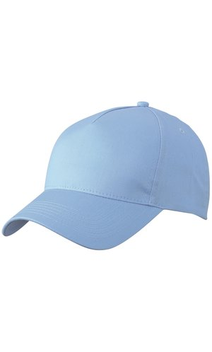 5 Panel Cap [light blue, One-size]