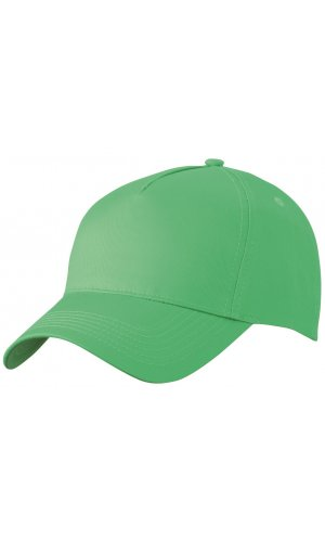 5 Panel Cap [lime green, One-size]