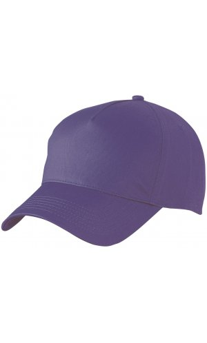 5 Panel Cap [mauve, One-size]