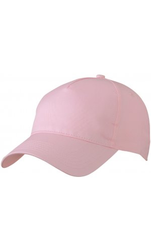 5 Panel Cap [rose, One-size]
