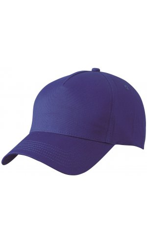 5 Panel Cap [royal, One-size]