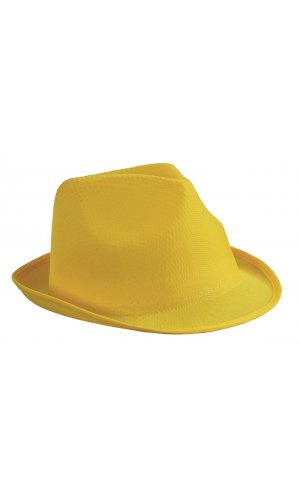 Promotion Hat [sun yellow, One-size]