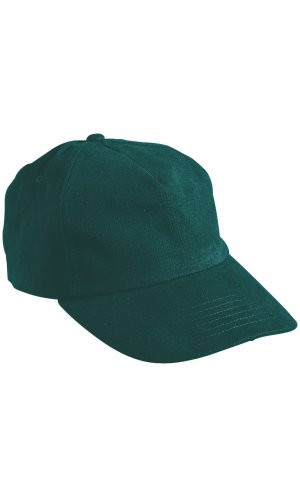 5 Panel Cap [dark green, One-size]