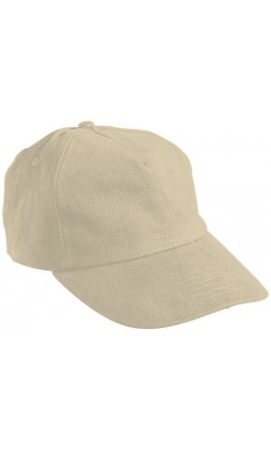 5 Panel Cap [light khaki, One-size]