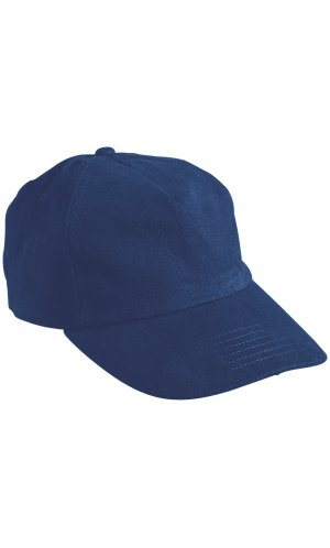5 Panel Cap [navy, One-size]