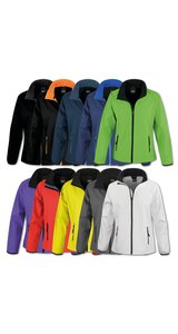 Womens Printable Softshell Jacket