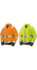 Soft Padded Safety Jacket Men