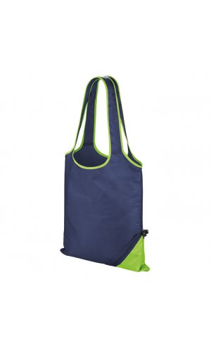 Compact Shopper [navy lime, One-Size]