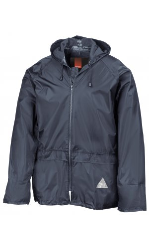 Waterproof Jacket and Trouser Set [navy, S]