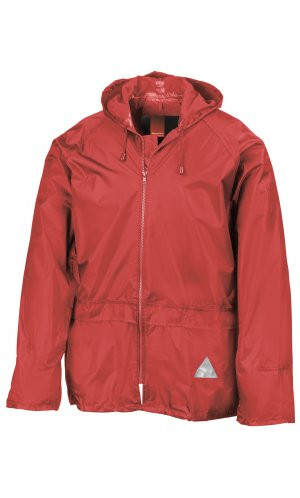 Waterproof Jacket and Trouser Set [red, 2XL]
