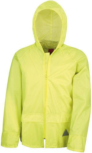 Waterproof Jacket and Trouser Set [yellow, M]