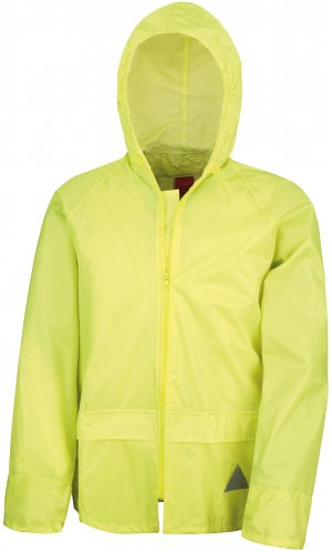 Waterproof Jacket and Trouser Set [yellow, S]