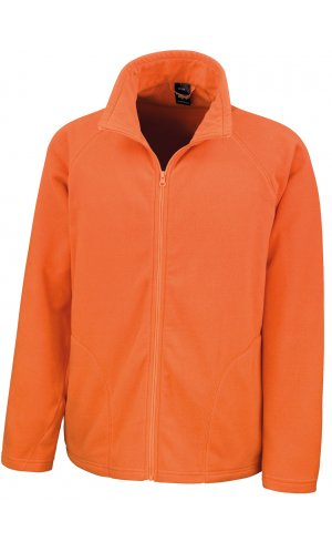 Fleece Jacke [orange, L]