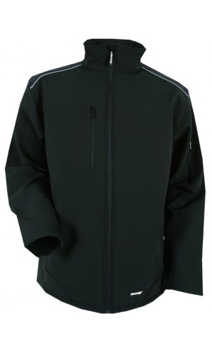 Workwear Ripstop Softshell [black, S]