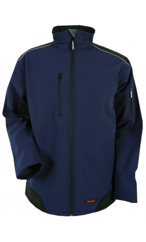 Workwear Ripstop Softshell [navy black, S]