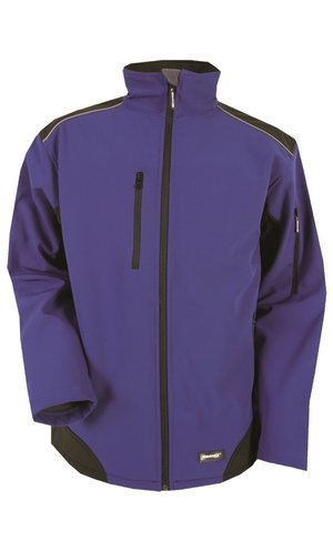 Workwear Ripstop Softshell [royal black, S]