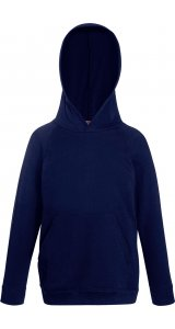 Kids Lightweight Hooded Sweat [Deep Navy, 140]