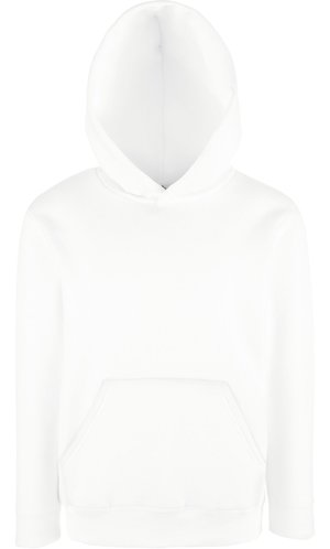 Kids Premium Hooded Sweat [Weiß, 140]