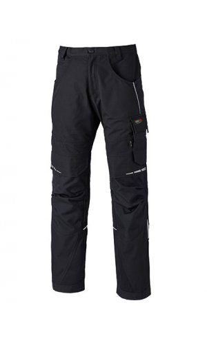 Pro Bundhose [Black Grey Solid, 24]