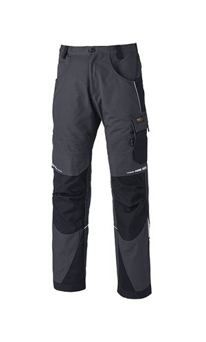 Pro Bundhose [Grey Solid Black, 24]