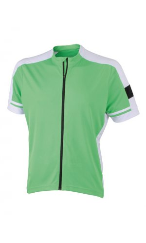 Men`s Bike-T Full Zip [Green, XL]
