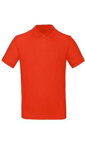 Inspire Polo / Men [Fire Red, S]