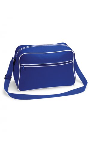 Retro Shoulder Bag [Bright Royal White, One Size]