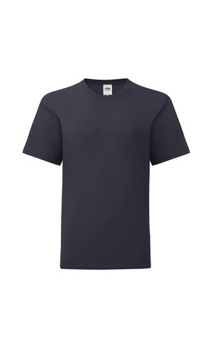 Kids Iconic T [Deep Navy, 104]