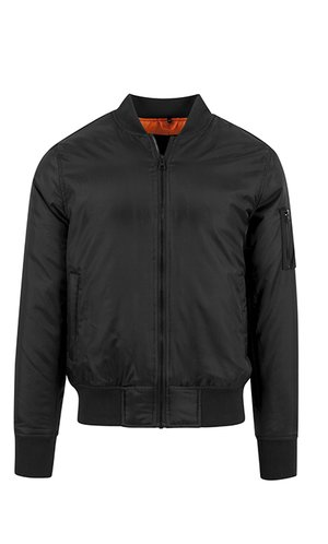 Bomber Jacket [Black, S]