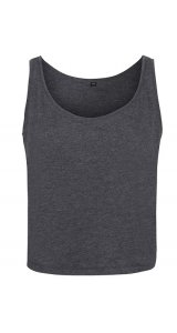 Ladies` oversized Tanktop [Charcoal (Heather), S]
